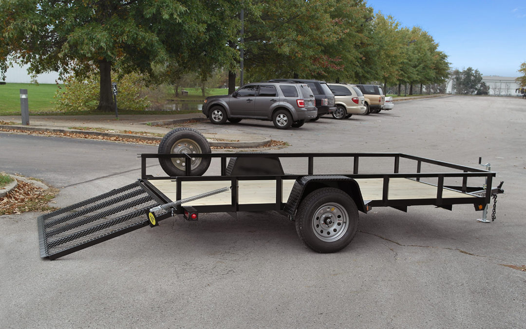 6ft 4in x 12 Utility Trailer