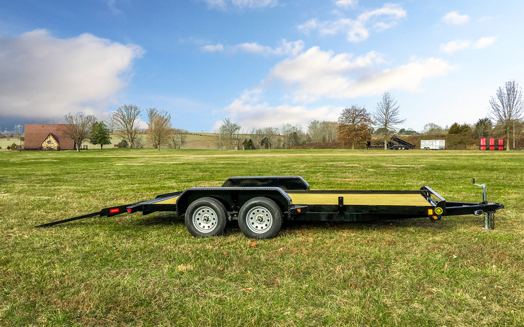 Flatbed Car Hauler Trailer With Dovetail Gatormade Trailer